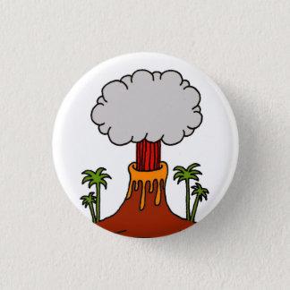Badge Rond 2,50 Cm Volcano