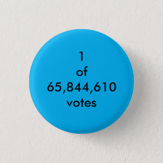 Badge Rond 2,50 Cm Vote populaire