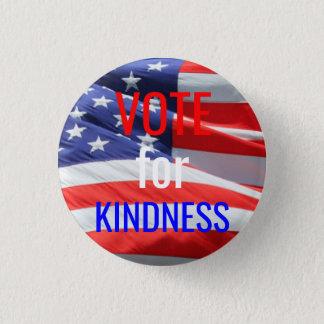 Badge Rond 2,50 Cm Vote pour des élections inspirées d'amour de