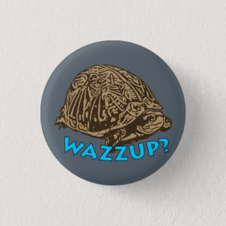 Badge Rond 2,50 Cm Wazzup - bouton rond