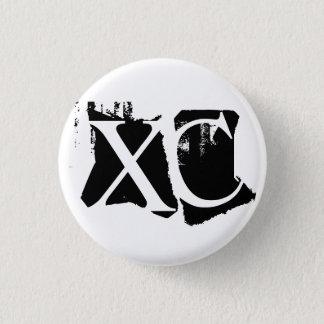 Badge Rond 2,50 Cm XC - Fonctionnement de pays croisé