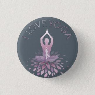 Badge Rond 2,50 Cm yoga déclaration