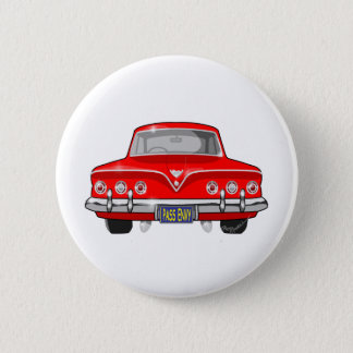 Badge Rond 5 Cm 1961 rouge Chevrolet
