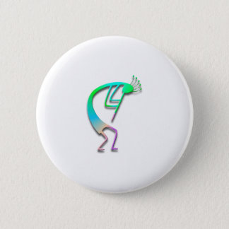 Badge Rond 5 Cm 1 Kokopelli #61