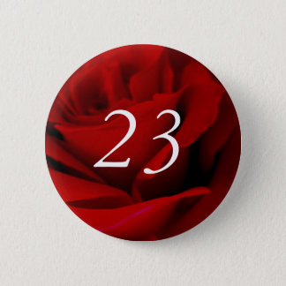 Badge Rond 5 Cm 23ème Anniversaire