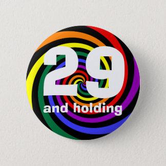 Badge Rond 5 Cm 29 et se tenir