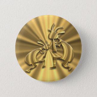 Badge Rond 5 Cm 2 Kokopelli #72