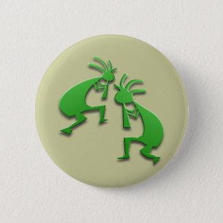 Badge Rond 5 Cm 2 Kokopelli #79
