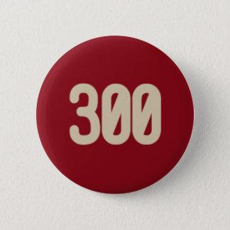 Badge Rond 5 Cm 300 mots, bouton d'icône de 2 minutes