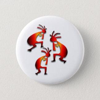 Badge Rond 5 Cm 3 Kokopelli #4