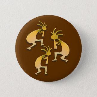 Badge Rond 5 Cm 3 Kokopelli #59