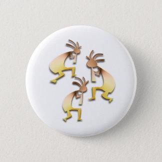 Badge Rond 5 Cm 3 Kokopelli #61