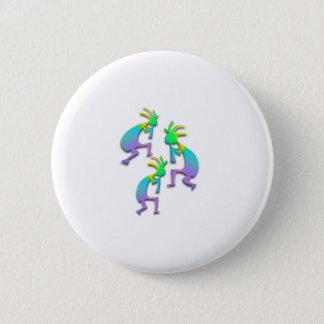 Badge Rond 5 Cm 3 Kokopelli #68