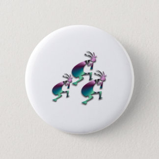 Badge Rond 5 Cm 3 Kokopelli #73