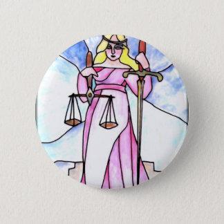 Badge Rond 5 Cm 8 - Justice