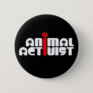 Badge Rond 5 Cm Activiste animal
