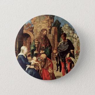 Badge Rond 5 Cm Adoration des Magi par Albrecht Durer
