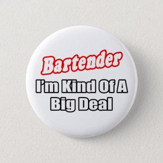 Badge Rond 5 Cm Affaire de barman…