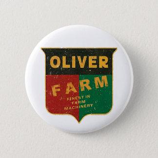 Badge Rond 5 Cm Agriculture d'Oliver