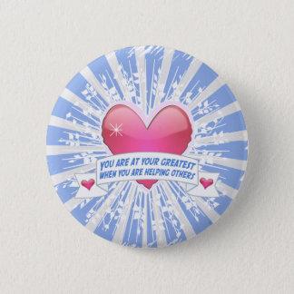 Badge Rond 5 Cm Aide de d'autres