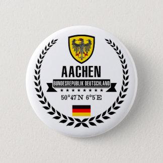 Badge Rond 5 Cm Aix-la-Chapelle
