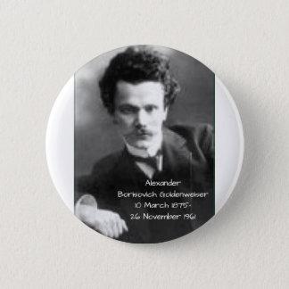 Badge Rond 5 Cm Alexandre Borisovich Goldenweiser