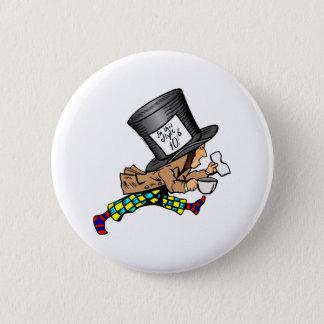 Badge Rond 5 Cm Alice dans le chapelier fou du pays des merveilles