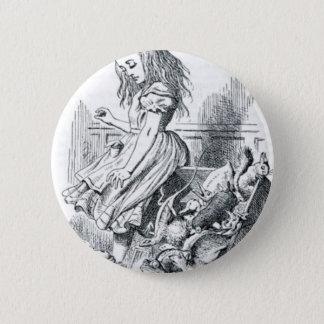 Badge Rond 5 Cm Alice et les écureuils