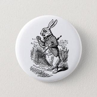 Badge Rond 5 Cm Alice vintage au pays des merveilles la montre