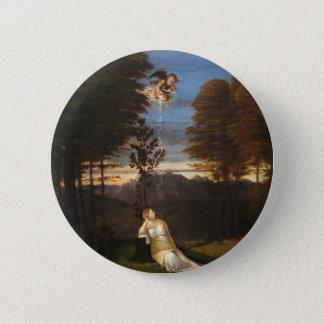 Badge Rond 5 Cm Allégorie de chasteté par Lorenzo Lotto