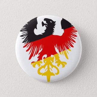 Badge Rond 5 Cm Allemand Eagle