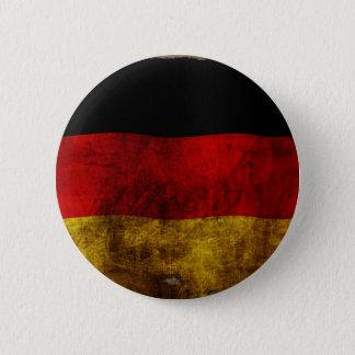 Badge Rond 5 Cm Allemand Flagge - cru…