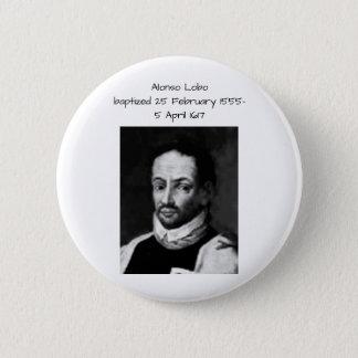 Badge Rond 5 Cm Alonso Lobo