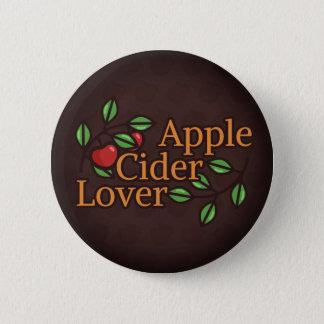 Badge Rond 5 Cm Amant de cidre d'Apple