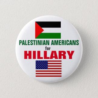 Badge Rond 5 Cm Américains palestiniens pour Hillary 2016