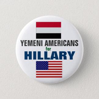 Badge Rond 5 Cm Américains yéménites pour Hillary 2016