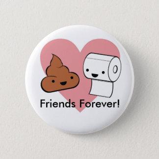 Badge Rond 5 Cm amis pour toujours, amis pour toujours !