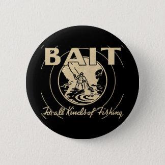 Badge Rond 5 Cm AMORCE pour toutes sortes de pêche