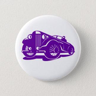 Badge Rond 5 Cm Angle faible de coupé vintage rétro
