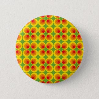 Badge Rond 5 Cm années '70 psychédéliques