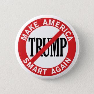 Badge Rond 5 Cm Anti Donald Trump - faites le coffre-fort de