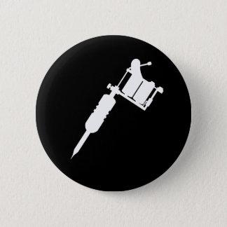 Badge Rond 5 Cm arme à feu de tatouage