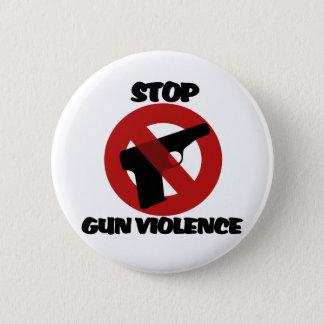 Badge Rond 5 Cm Arrêtez la violence armée
