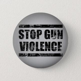 Badge Rond 5 Cm Arrêtez le bouton de violence armée