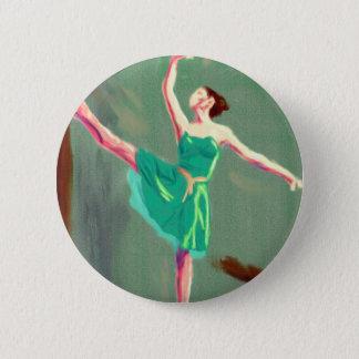 Badge Rond 5 Cm Art d'amour de ballet