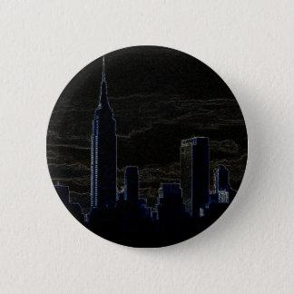 Badge Rond 5 Cm Art de bruit New York City