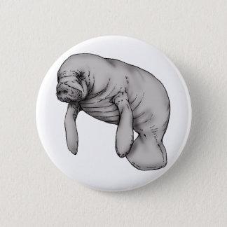 Badge Rond 5 Cm art de lamantin