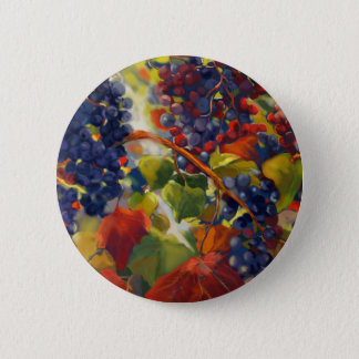 Badge Rond 5 Cm Art de raisins