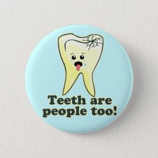 Badge Rond 5 Cm Art dentaire drôle