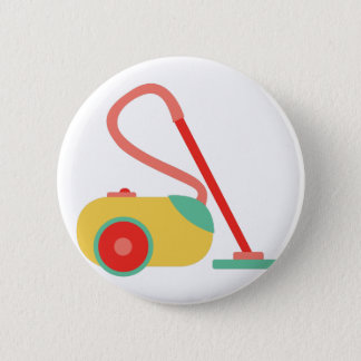 Badge Rond 5 Cm Aspirateur